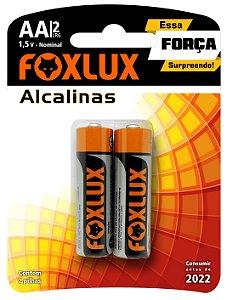 Pilha Alcalina Blister 1,5V Foxlux