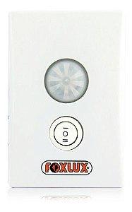 Sensor De Presença 180º  Embutir 4x2 De Parede Foxlux