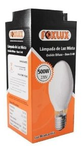 Lâmpada De Luz Mista 500w-220v Foxlux