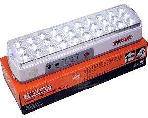 Luminária De Emergência Led Com 30 Led´s  Foxlux