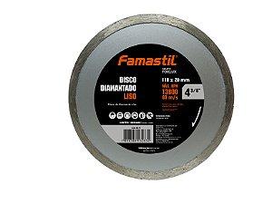 Disco Diamantado Liso 4.3/8'' Famastil