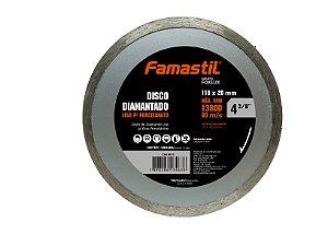 Disco Diamantado Liso Porcelanato 4.3/8'' Famastil