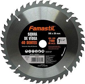Disco De Flap 7.1/4 Com 40 Dentes Famastil