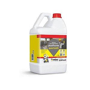 Aditivo Plastificante 3,6 Litro Quartzolit