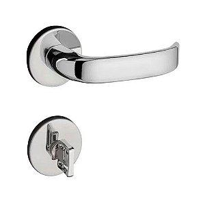 Fechadura Magnum Banheiro Cromada 40mm Pado