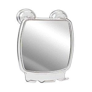 Espelheira Com Ventosa Cristal Astra