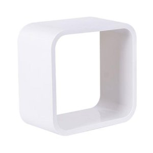 Nicho De Plástico 36cm Branco Com Branco Astra