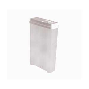 Porta Sabão Em Pó 2,4 Litros Branco Astra