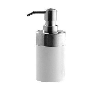 Porta Sabonete Liquido Branco Astra