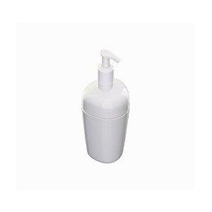 Porta Sabonete Liquido De Plástico Branco Astra