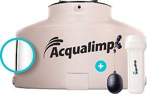 Caixa D'Água Água Limpa 500 Litros Com Filtro e Bóia Acqualimp
