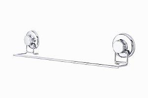 Porta Toalhas Inox Com Ventosa Cromado Astra