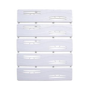 Tapete De Plástico Rígido 42x55 Branco Astra