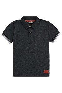 Camisa Polo Menino em Malha Daily