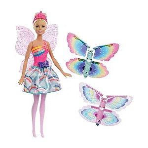 Boneca Barbie - Fada Asas Voadoras