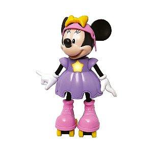 Boneca Minnie Patinadora com Sons