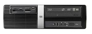 Cpu HP Pro 3000 SFF - Pentium - 02GB DDR3 - 08/160HD - Slim