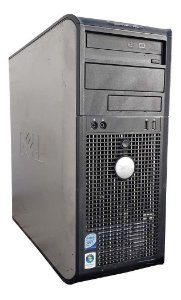 Cpu Dell 755 Gabinete Torre - Pentium - 02GB DDR2 - 80/160HD