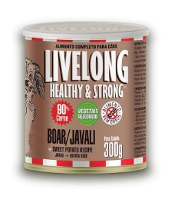 Livelong -  Javali com Batata Doce 300g