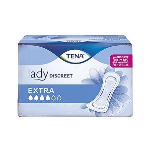 Absorvente Tena Lady Discreet Extra 8 Unidades