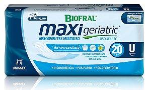 Absorvente Geriátrico Maxi Geriatric 20 unidades