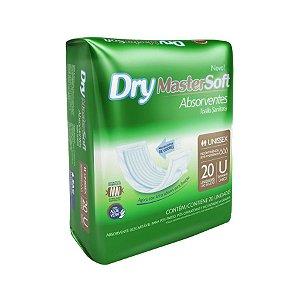 Absorvente Dry MasterSoft 20 Unidades