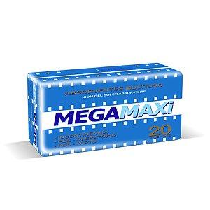 Absorvente Mega Maxi 20 Unidades