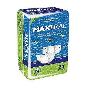 Fralda Geriátrica Maxfral Mega M 24 unidades
