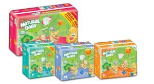 Fralda Natural Baby Premium Mega