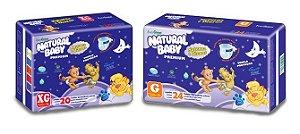 Fralda Natural Baby Premium Noturna Econômica