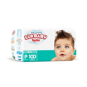 Fralda Infantil Luk Baby Jumbo P 100 unidades