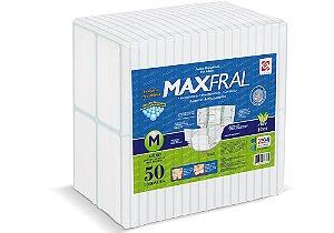 Fralda Geriátrica Maxfral Super M 50 Unidades