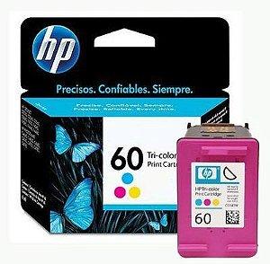 Cartucho Original HP 60 Colorido