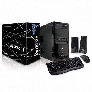 Computador Computador Intel I3 4160 3.6ghz 4gb/Hd500gb/Dvdrw