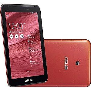 Tablet Asus Fonepad 7 8GB Wi Fi 3G Tela 7'' Android 4.4 Intel Atom Dual Core - Vermelho