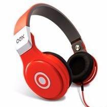 HP102 headphone groove vermelho