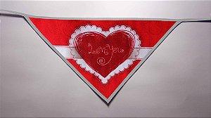 Kit 20 Bandanas tema: Love