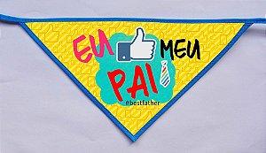 Kit 100 Bandanas PAI- PROMOÇÃO