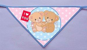 Kit 10 Bandanas Love 0202