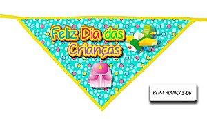 Kit 10 Bandanas -Dia das crianças- 02