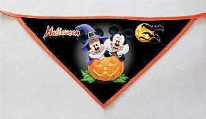 Kit 100 Bandanas Halloween - MODELOS NOVOS -  PROMOÇÃO