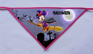 Kit 10 Bandanas Halloween - MODELOS NOVOS