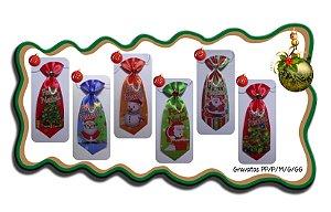 Gravatas Social Natal 02- Pct 25 unids