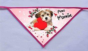 Kit 10 Bandanas - Amo a Mamãe