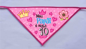 Kit 100 Bandanas PAI 18- PROMOÇÃO