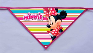 Kit 10 Bandanas - Minnie e Mickey