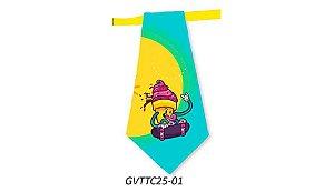 Gravatas em Tecido - GVTTC25- Pct 10 unids
