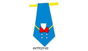 Gravatas em Tecido - GVTTC27- Pct 10 unids