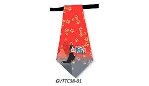 Gravatas em Tecido - GVTTC38- Pct 10 unids