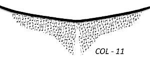 COLARINHOS-COL-15 - Pct 10 unids